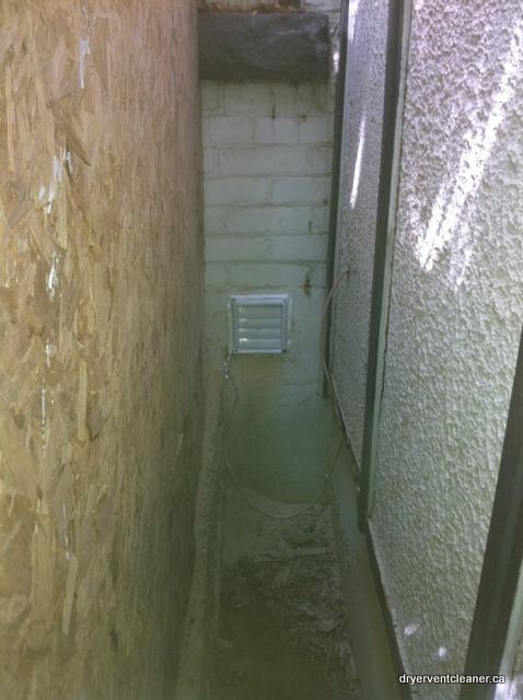 installed dryer vent hamilton