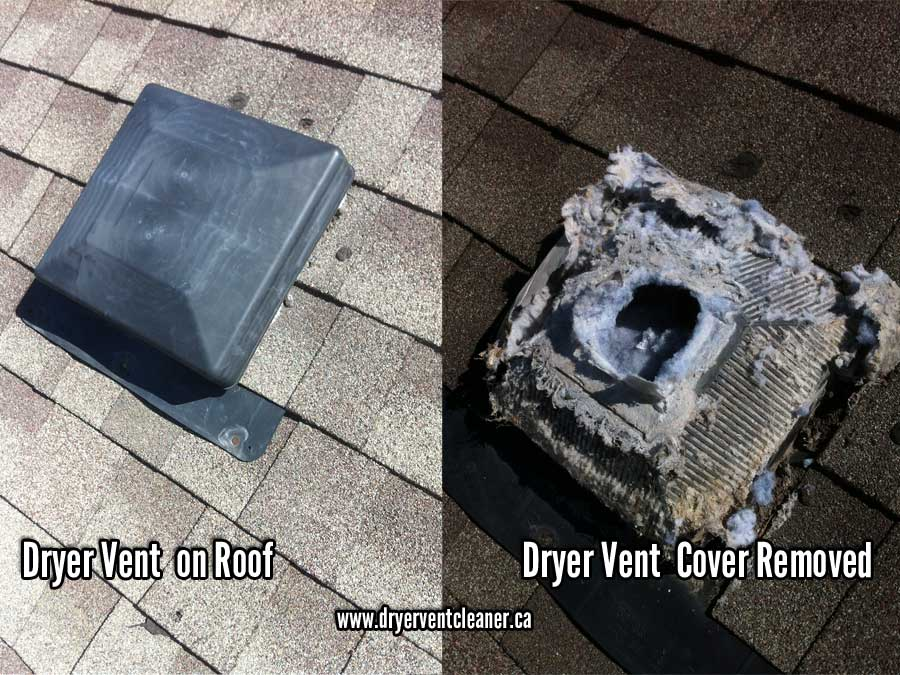 roof dryer vent cleaning