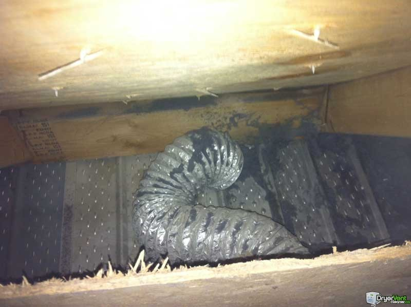 Dryer Vented In Attic Not Outside Dryer Vent Cleaner