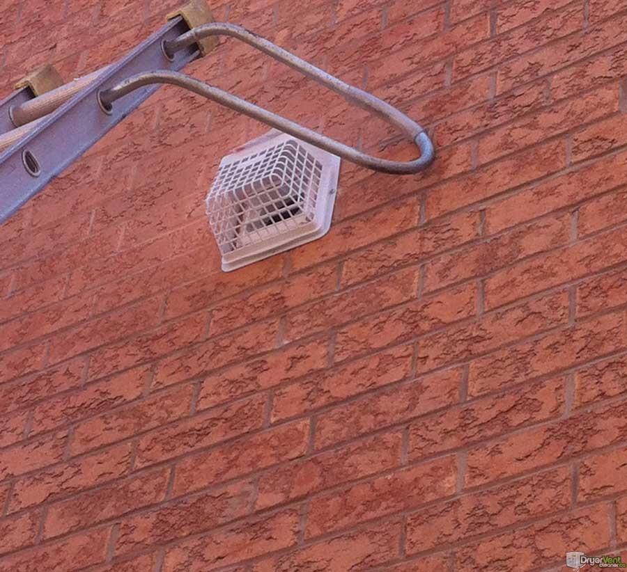 Dryer vent installation done