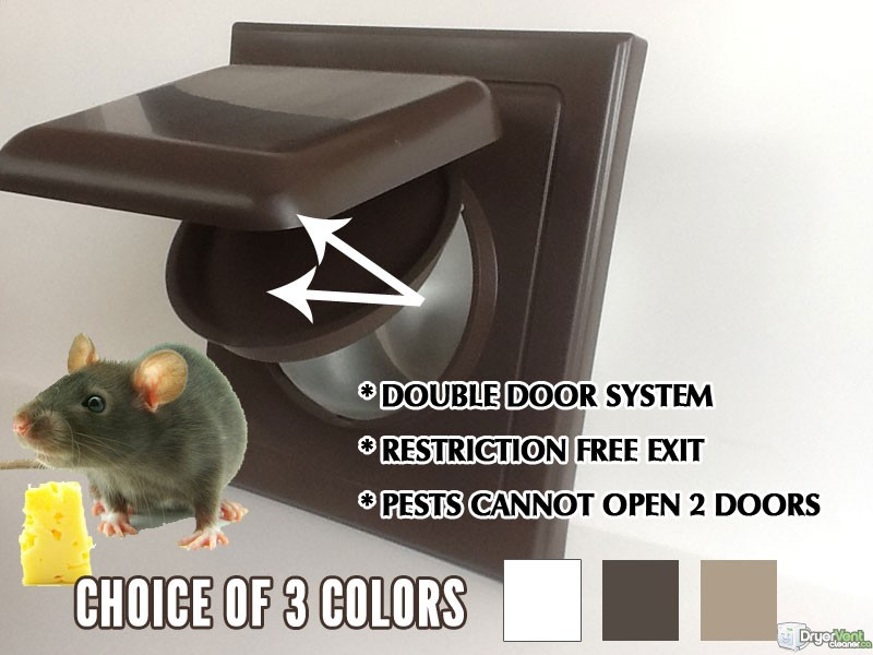 mouse proof dryer vent