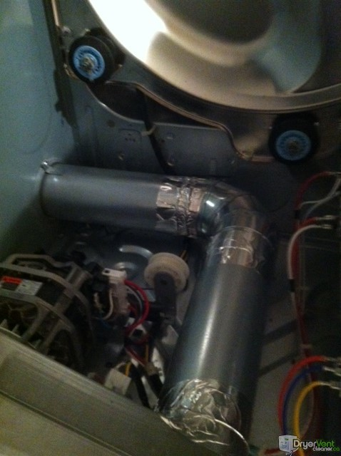 Dryer Side Vent Installation
